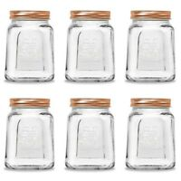 475ml Glass Jar Rose Gold Glass Jar w Screw Lid Storage Food Container Bulk