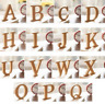 Wooden Letters and Numbers Free Standing 10cm MDF High Alphabet Wood Craft