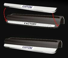 Sky Solstice Opel illuminated door sills standard text or custom available
