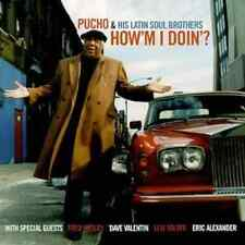 "PUCHO & HIS LATIN SOUL BROTHERS ""How'm I Doin'?"" (CD 2000) EXCELLENT"