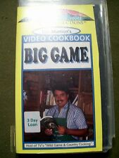 Tim Manion's Video Cookbook - Big Game (1993, VHS)