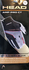 Head Amp Pro Ct racquetball glove Size Large (Right Hand)