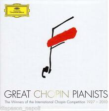 Great Chopin Pianists, I Winners Of Award Chopin Di Warsaw - Box 11 CD