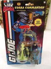 Star Brigade: 1994 Cobra Supreme Leader:COBRA COMMANDER (v36):100% CMP: MOC!!