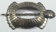 Vintage Navajo Indian Sterling Silver Hair Ornament Pony Tail Holder
