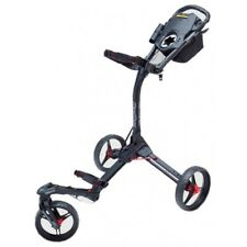 BAGBOY TRI SWIVEL II GOLF BUGGY  - BLACK/RED - NEW - AWESOME VALUE!!