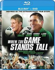 When the Game Stands Still (Blu-ray/DVD, 2014, 2-Disc Set)