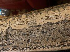 Vintage Reproduction Scrimshaw Fogos The Whaler Green PT 1842