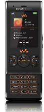 BLACK SONY ERICSSON W595 SLIDE MOBILE PHONE-UNLOCKED WITH HOUSE CHARGAR&WARRANTY