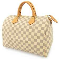 LOUIS VUITTON Speedy 30 Damier Azur Beige N41533 Handbag Mini Boston Bag France