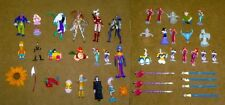 45 Disney & Other Characters Restaurant Premiums & Toys, Nice Condition