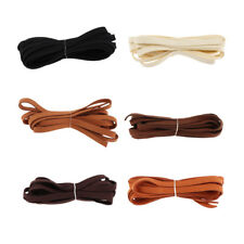 Soft Artificial Leather Cord Suede Cord Rope for Craft Jewelry Making 3.3yd