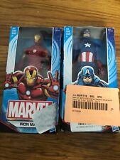 "Marvel Avengers Captain America And Iron Man 6"" Action Figure Hasbro"