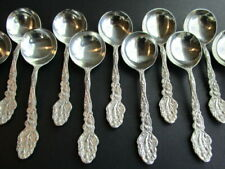 "5/"" No Mono 30g Gorham Versailles Sterling Silver Gold Wash Small Soup Spoon"