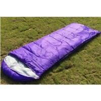 Single Person Sleeping Bag Outdoor Camping Suit Case Envelope Zip & Waterproof