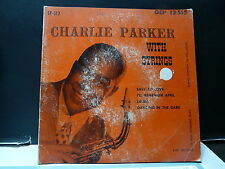 CHARLIE PARKER With strings Easy to love ... GEP 12515
