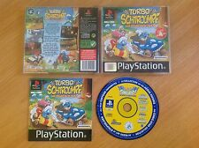 Turbo Schtroumpfs (Playstation1/game/ver. EUR)
