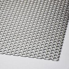 Acier inox Feuille perforée Rv 5-8 V2A Tôle 1,0mm Feuilles Découpages
