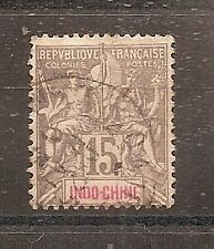 TIMBRE ASIA INDOCHINE INDOCHINA N°19 OBLITERE CHINE CHINA VIETNAM ¤¤¤