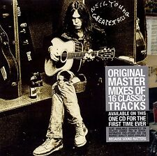NEIL YOUNG (GREATEST HITS CD SEALED + FREE POST)