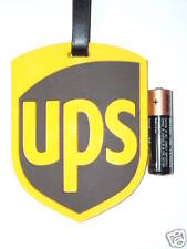 """""""UPS"""" Promotional Item: Baggage Tag (Soft Rubber)Brand New行李牌全新"""