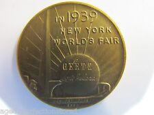 1939 New York World's Fair GERTZ LI 150th Inaugeration Washington Coin/Medallion