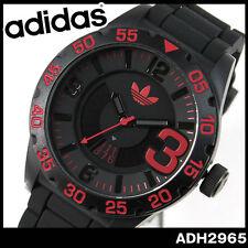 Adidas Newburgh Black Dial Black Silicone Strap Mens Watch ADH2965