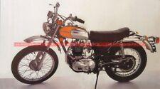 TRIUMPH 500 Trophy TR5 T Fiche Moto #007643