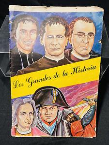 ALBUM FIGURINE FHER LOS GRANDOS DE LA HISTORIA,VUOTO VINTAGE