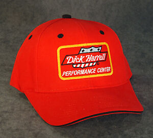 RED DICK HARRELL PERFORMANCE CENTER CAP - Officially Licensed & Approved