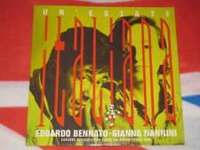 "EDOARDO BENNATO GIANNA NANNINI - Un'Estate Italiana 12"" EP 3 Versioni"