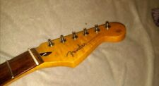 Stratocaster Neck 22 Frets F Logo And Fender Tuners