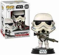 Star Wars FUNKO POP! #322 Sand Trooper Vinyl Bobble Head - EXCLUSIVE