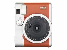Fuji Fujifilm Instax Mini 90 Neo Classic Brown Instant Photo Camera 60 Film