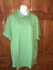 Banana Republic Men's Fitted Pima Polo Shirt Sz XXL Tall Green S/S orig $44.50