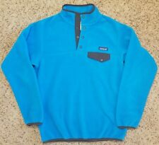 Patagonia Synchilla Womens Snap T Fleece Pullover Blue M