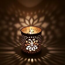 Candle Holder Cylindre Flower 2.5