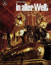 Zeitschrift Mercedes-Benz in aller Welt 5/87 1987 209 Carillon Bangkok Documenta