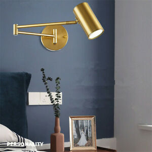 Swing Arm Bedroom Wall Lamp Kitchen Wall Lighting Vintage Lamp Home Wall Sconces