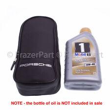 Porsche Oil top up kit and storage bag