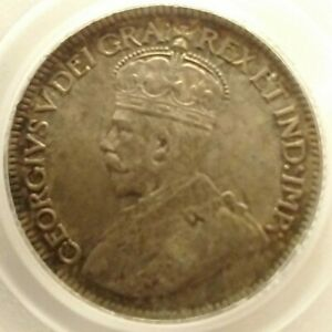 Canada 1920 George V ten cent PCGS MS 64