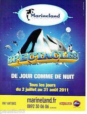 PUBLICITE ADVERTISING 116  2011   Parc aquatique Marineland & Radio RFM