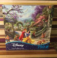 New Disney Thomas Kinkade Snow White Dancing In The Sunlight Puzzle