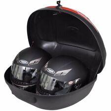 Motorradkoffer 72 L für zwei Helme Top Case Roller Motorrad Koffer Rollerkoffer