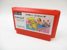 Famicom DONKEY KONG Silver Box Type 0160 Cartridge Only Nintendo Japan Game fc
