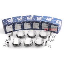 6pcs Pistons Rings Set KS Low Compression 9.7:1 For 2.5L BMW 325i E90 E91 N52B25