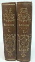 2 Bücher Blumauer  1842