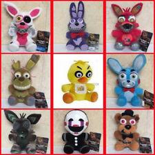 FNAF Five Nights at Freddys Plush toy Bear Foxy Bonnie Chica Animal Doll Gifts