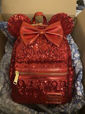 Loungefly Disney Parks sequin Mini Backpack New With Tags