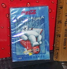 COCA - COLA POLAR BEAR DECK OF PLAYING CARDS NEW SEALED DECK NEW OLD STOCK